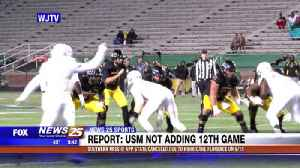 USM football not adding 12th game [Video]
