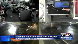 Surveillance Video From Waffle House Robbery [Video]