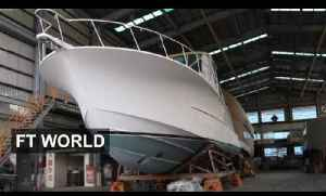 Taiwan's yacht builders face tough future [Video]