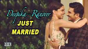 Deepika – Ranveer JUST MARRIED | CONGRATULATIONS [Video]