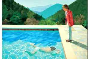 News video: David Hockney could become the most expensive artist alive