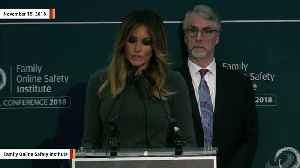 Melania Trump Says It's 'Not Surprising' That Media 'Ridicules' Her For Speaking Out Against Cyberbullying [Video]