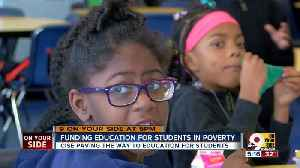 CISE: Funding education for students in poverty [Video]