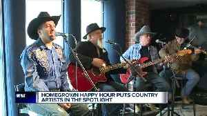 Country music thriving in Detroit: WYCD's Homegrown Happy Hour showcases local bands [Video]