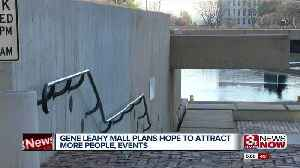 Gene Leahy Mall renovations start in the spring [Video]