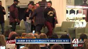 Queer Eye's Fab Five celebrate book launch, time in Kansas City at sold-out library event [Video]