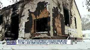 Body found in Detroit house believed to be law enforcement official's son [Video]