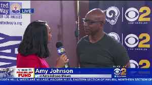 Fire Relief Fund: Rams Hall Of Famer, Eric Dickerson [Video]