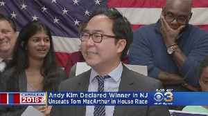 Democrat Andy Kim Declared Winner In New Jersey's 3rd Congressional District Race Over Republican Tom MacArthur [Video]