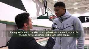 It's all Greek with Giannis Antetokounmpo in one-on-one interview with TODAY'S TMJ4 [Video]