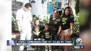 Family remembers young man killed by train [Video]