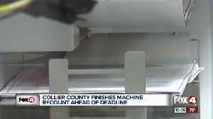 Southwest Florida counties wrapping up machine recounts [Video]