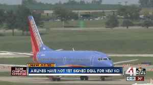 Airlines haven't signed off on new KCI price tag [Video]