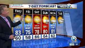 Latest Weather Forecast 11 p.m. Wednesday [Video]