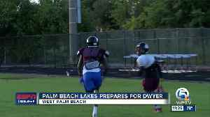 Palm Beach Lakes Football ready for rematch with Dwyer 11/14 [Video]