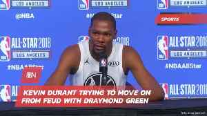 Kevin Durant Tries To Move Away From Feud [Video]