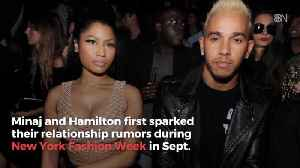 Is Nicki Minaj Dating Driver Lewis Hamilton [Video]