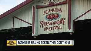 Organizers warn about Florida Strawberry Festival ticket scam [Video]