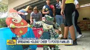 Students need holiday decorations to help brighten up St. Petersburg foster village [Video]