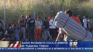 Migrants Fill Tijuana Shelters, More On Way To U.S. Border [Video]