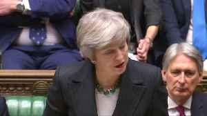 UK PM May warns: It is my deal, no deal or no Brexit [Video]