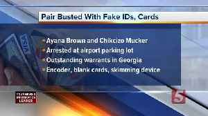 2 busted with fake IDs, credit cards in Nashville [Video]