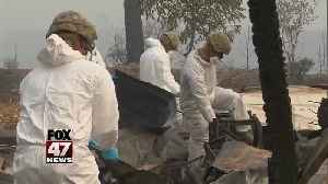 California wildfire rescuers search for remains [Video]