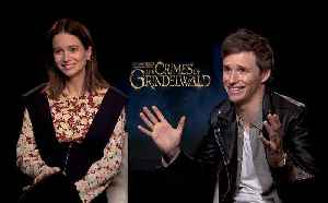 'Fantastic Beasts: The Crimes Of Grindelwald': Exclusive Interview With Eddie Redmayne & Katherine Waterston [Video]