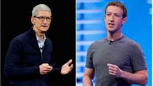 News video: Facebook Confirmed Mark Zuckerberg's Beef With Apple CEO Tim Cook In An Official Company Statement