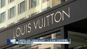 Thieves pull off Louis Vuitton merchandise theft with clever story [Video]