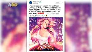 Mariah Carey Gets the Last Laugh as 'Glitter' Soundtrack Hits No. 1 on iTunes 17 Years Late [Video]