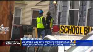 Columbia Gas Will Work Thanksgiving Day In Merrimack Valley [Video]