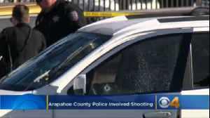 Officers Shoot Allegedly Armed Suspect In Car On Arapahoe Road [Video]