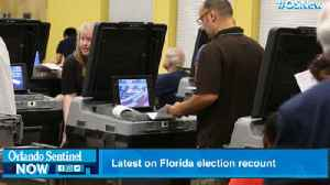 Latest on Florida election recount [Video]