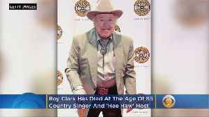 Country Music Legend Roy Clark Dies At 85