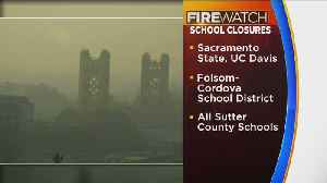 Smoky, Unhealthy Air Prompts Many NorCal Schools To Close [Video]