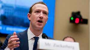 News video: Mark Zuckerberg Addresses Company Hiring Research Firm To Help With Image