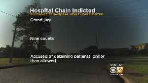 News video: North Texas Mental Health Hospital Indicted For Holding Patients 'Involuntarily And Illegally'