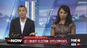 Lee County's manual recount will be delayed, votes must be re-sorted [Video]