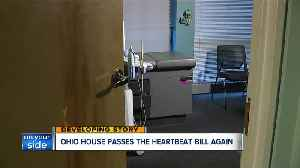 'Heartbeat bill' prohibiting abortions after heartbeat is detected passes OH House, heads to Senate [Video]