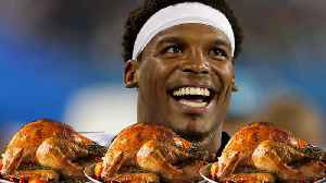 Cam Newton Throwing Huge Holiday Party: Buying Meals for 1,200 Underprivileged Kids! [Video]