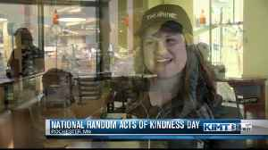 Nation random acts of kindness day [Video]