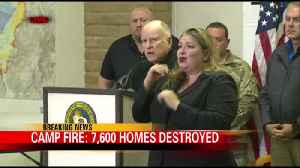Gov. Brown Addresses the Camp Fire at a Meeting in Oroville [Video]