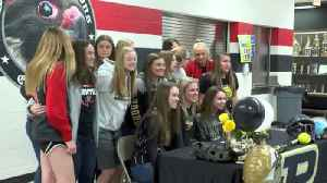 Frontier's KC Clapper signs with Purdue [Video]