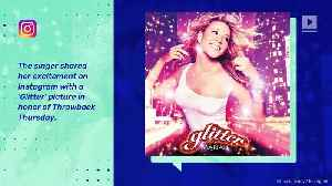 Mariah Carey's 'Glitter' Soundtrack Tops Charts 17 Years After Release [Video]