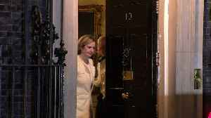 Rudd leaves Downing Street as work and pensions secretary [Video]