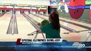 Special Olympics athletes participate in bowling competition [Video]