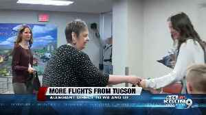 Allegiant Airlines debuts new routes from Tucson [Video]