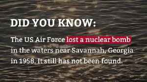 The US Air Force lost a bomb WHERE? [Video]