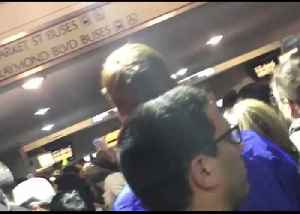 Snow Storm Causes Commuter Chaos at Newark Penn Station [Video]